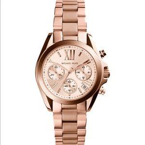 Michael Kors   Chronograph Rose Gold Watch